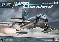 Самолет 'Super Etendard' 1/48 KITTY HAWK 80138