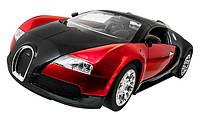 Машинка на радиоуправлении копийная Meizhi Bugatti Veyron 1:14 красная (машинки на пульте управления)