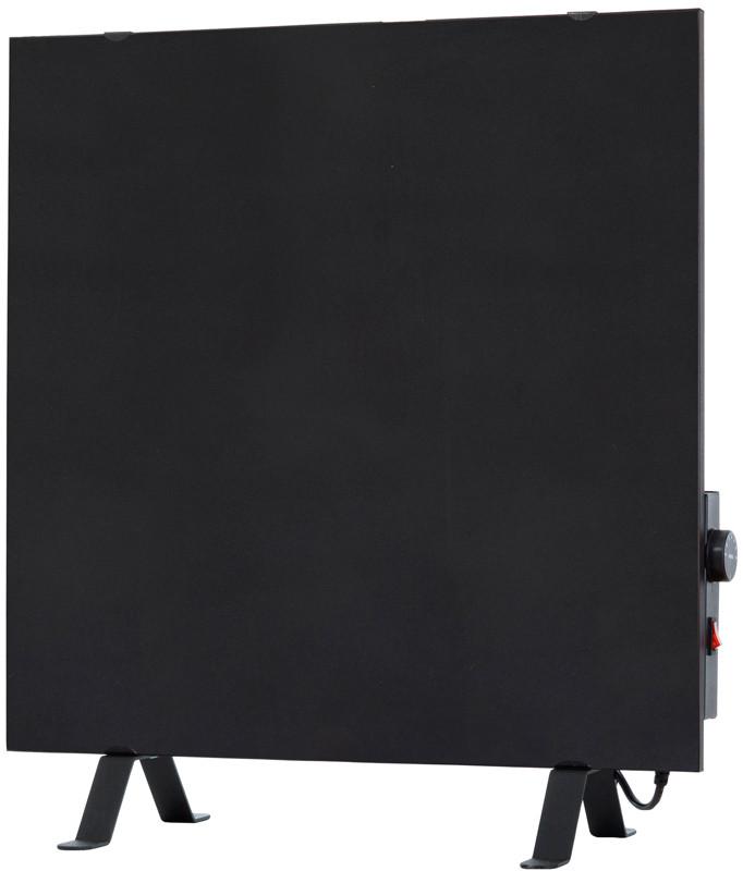 Керамический обогреватель с терморегулятором ENSA CR500T Black (500Вт 10м2  600x600мм)