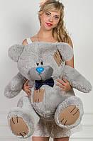 Мишка Тедди плюшевый серый 95 см