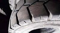 БУ цельнолитая шина 23х9-10 Solideal Magna