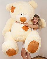 Мишка плюшевый Тедди кремовый Великан 240 см