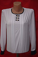 Нарядная  блуза на девочку с длинным рукавом  подросток, фото 1