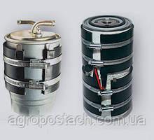 Подогреватель топливного фильтра бандажный (с кнопкой) ПБ-107, 24 В