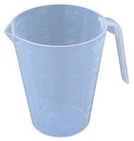 """Кружка мерная пластиковая 0,3 литра """"Юнипласт"""""""