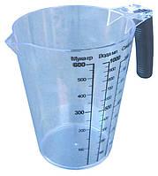 """Кружка мерная пластиковая «Эталон» 1 литр """"Горизонт"""" + Видеообзор, фото 1"""