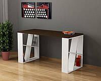 Письменный компьютерный стол из массива дерева 079