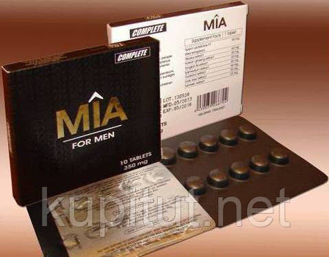 Афродизиак МИА таблетки для мужчин лечения простатита.