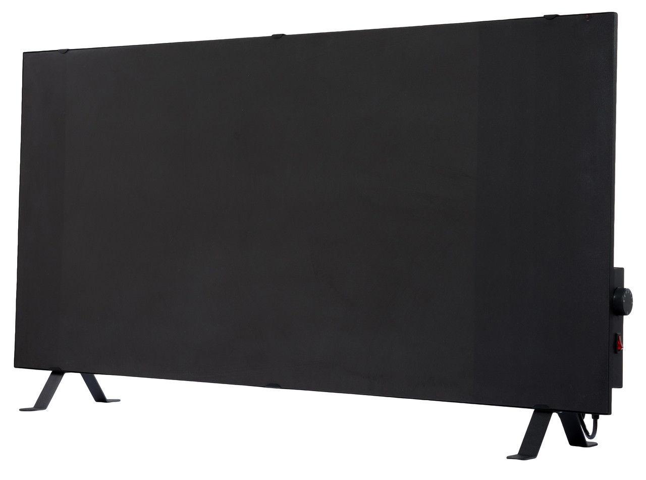 Керамический обогреватель с терморегулятором ENSA CR1000T Black (950Вт 18м2 600x1200мм)