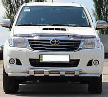Кенгурятник на Toyota Hilux (2004-2015) Тойота Хайлюкс