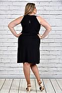 Женское платье-туника на лето 0318 цвет золотые цветы до 74 размера / больших размеров для полных женщин, фото 4
