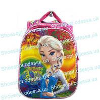 Рюкзак школьный 3D Холодное сердце Frozen ортопедический + сумка пр-во Турция