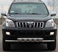Кенгурятник на Toyota Land Cruiser 120 (2002-2009) Тойота Ленд Крузер PRS