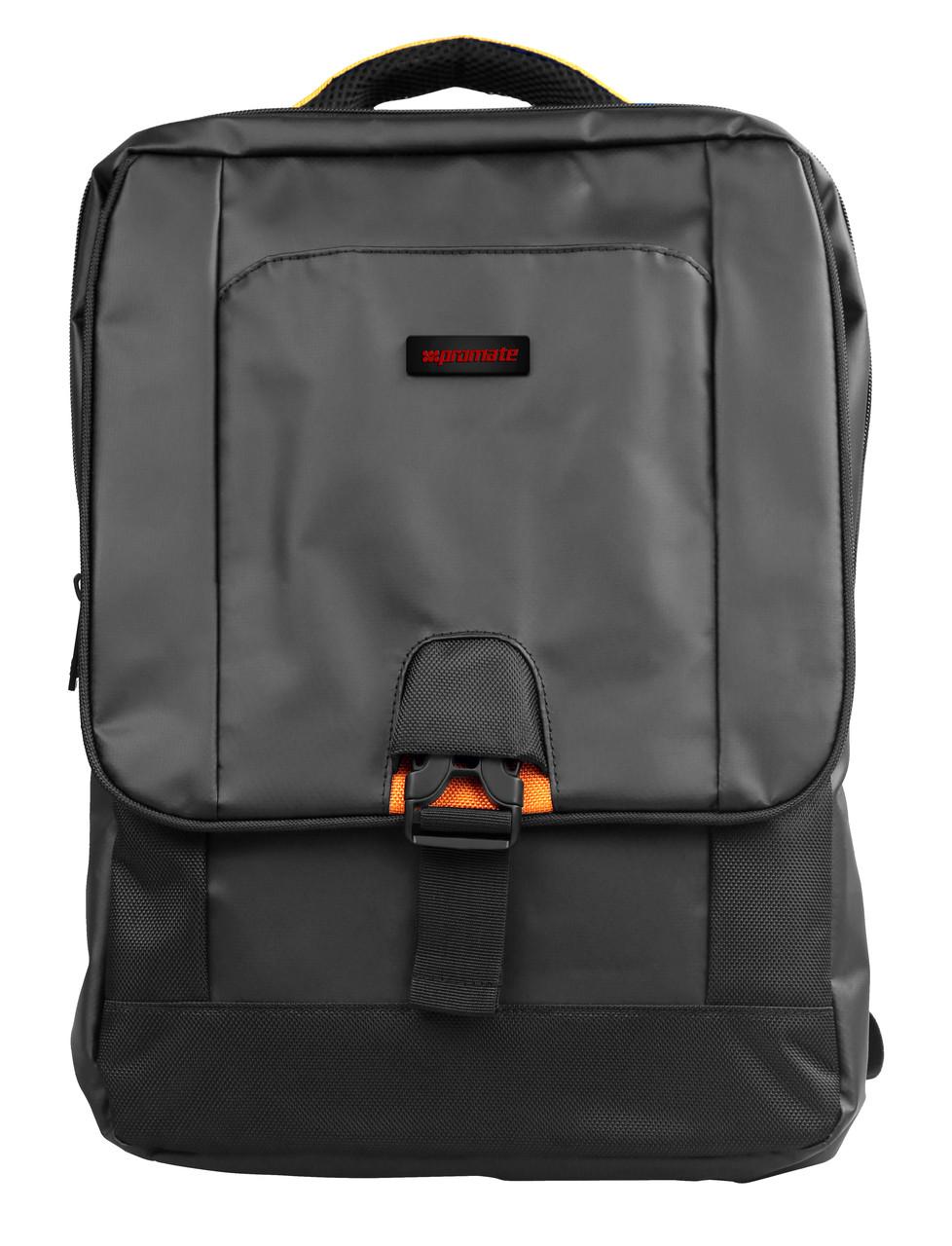 """Рюкзак для ноутбука Promate Commute-BP 15.6"""" Black"""