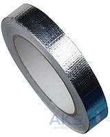 Термостойкий скотч алюминиевый, 20мм х 20м