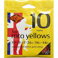Струны Rotosound R10 Roto Yellows 10-46, фото 1