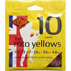 Струны Rotosound R10 Roto Yellows 10-46