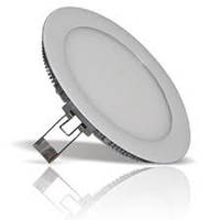 Светильник светодиодный потолочный LED 6Вт круг 4200 К встраиваемый