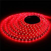 Светодидная лента Feron 4201 LS603/LED-RL 60SMD(3528)/m 4.8W/m 12V 5m*8*0.22mm красный на белом (блистер)