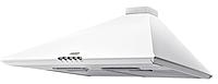 Basic Casa 50 white (500 мм.) купольная кухонная вытяжка, без декоративного кожуха, белая эмаль