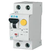 Дифференциальный автоматический выключатель PFL4-10/1N/C/003 Eaton (Moeller)