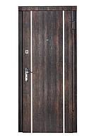 """Входная дверь """"тиковое дерево +молдинг"""""""