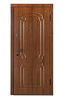 """Входная дверь """"DR-16 орех БМК (мдф/мдф)"""