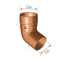 Gamrat Magnat  Колено  67,5°  d=90(Гамрат), фото 1
