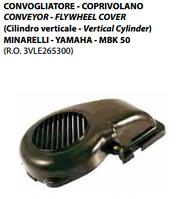 Кожух обдува (крыльчатки) на двигатели Minarelli Вертикальный