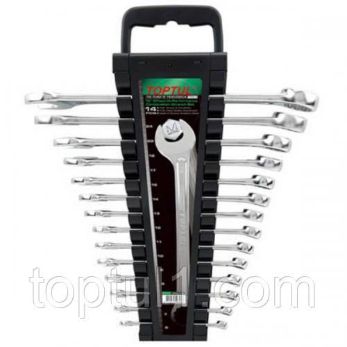 Набор ключей комбинированных  TOPTUL GAAC1401 14 шт. 6-24 мм