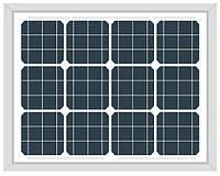 Солнечная панель (фотомодуль) Altek ALM-30M (монокристалл 30Вт 12В)