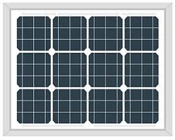 Солнечная панель Altek AKM30(6) (монокристалл 30Вт 12В)