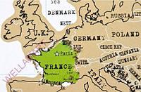 Скретч-карта мира на английском языке