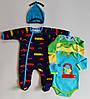 Детская одежда оптом Комплект для малышей YALOO оптом р.62-68-74-80см