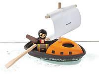 Деревянная игрушка Plan Тoys - Пиратский корабль