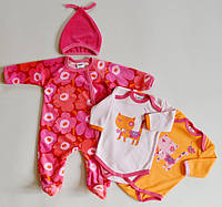 Детская одежда оптом Комплект для малышей YALOO оптом р.62-68-74-80см, фото 1