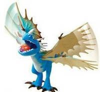 Функциональный Дракон Громгильда Как приручить дракона, DreamWorks Dragons Action Dragon, Nadder из США