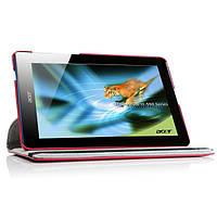 Вращающийся красный чехол для Acer Iconia B1-A71, фото 1