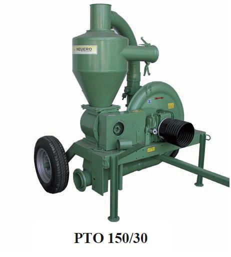 Погрузчик зерна PTO 150/30 пневматический