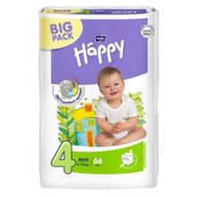 Подгузники Happy Bella big pack 8-18 кг., размер 4 Maxi