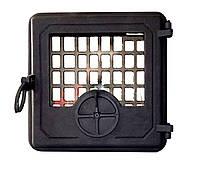 Чугунная печная дверца - VVK 33x36см-31x31см