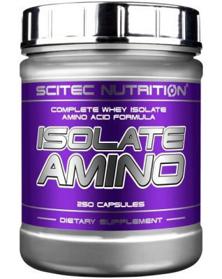 Аминокислоты Isolate Amino (250 caps) Scitec Nutrition