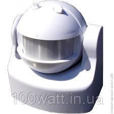 Датчик движения инфракрасный HL 482 белый 180°