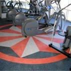 Резиновое спортивное покрытие для тренажёрного зала/фитнеса/открытой спортивной игровой площадки