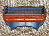 Сменные лезвия кассеты для бритвенного станка Gillette Fusion