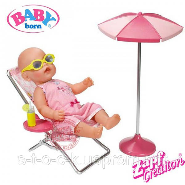 Zapf Creation Baby born 822395 Бэби Борн Набор Солнечные ванны