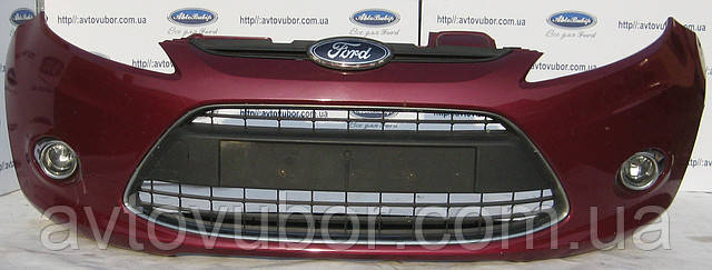 Бампер передний Ford Fiesta МК7 09--