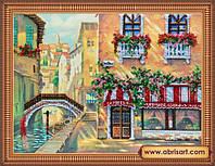 Набор для вышивания бисером Венецианское кафе AB-251