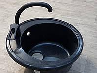 Смеситель кухонный Zegor black