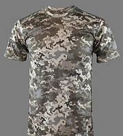 Потоотводящая футболка Coolmax піксель.
